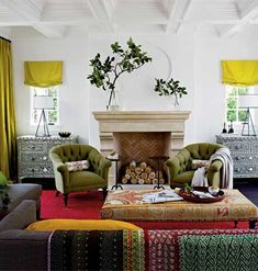 Designer Jackie Terrell created a fresh take on Mission Revival style for the Cottage Living Los Angeles
