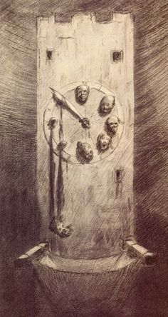 Alfred Kubin - The Hour Of Death, 1900