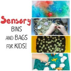Sensory Bins and Bags for Kids SQ