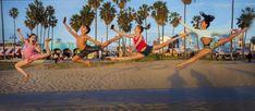Jordan Matter | GuruShots Famous Photography, Dance Photography Poses, Dance Poses, Group Dance, Photos Tumblr, Dance Pictures, Venice Beach, Gymnastics, Jordans