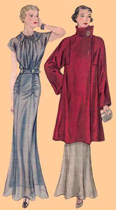 Dress Name: Selection of Vintage Custom Mad. 1930s Fashion, Diy Fashion, Retro Fashion, Vintage Fashion, Fashion Outfits, Vintage Dress Patterns, Barbie Patterns, Vintage Dresses, Vintage Outfits