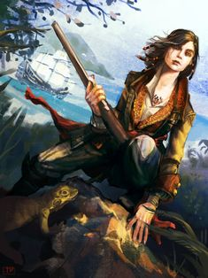 Mary Read: AC4 by brainleakage on deviantART #AssassinsCreed