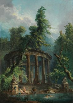 Цвет и свет - Hubert Robert