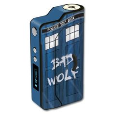 7123be8fb0b Skin Decal Wrap for Sigelei 150W TC mod skins sticker vape Time Lord Box  Vintage Flag