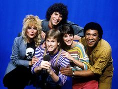 """MTV Original Vee-Jays. MTV goes on the air running around the clock music videos, debuting with """"Video Killed the Radio Star"""" August 1, 1981, at 12:01 a.m"""