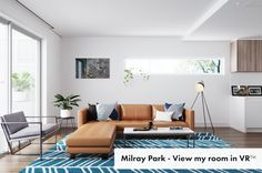 Struggling to put together the look for their new family home, Erin decided to give Milray Park eDecorating service a try! Home And Family, Couch, Park, Stylish, How To Make, Furniture, Design, Home Decor, Decoration Home
