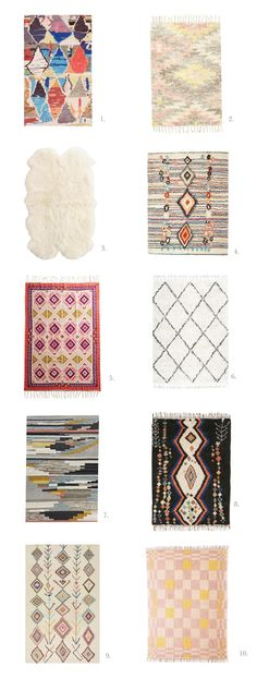 10 rugs I love (for under $500) | A Beautiful Mess | Bloglovin'