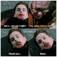 I could stab myself in the face 5 times and it wouldn't be as painful as this scene. #mattbomer #donovan #kathybates #iris #americanhorrorstory #americanhorrorstoryhotel #ahs #ahshotel #matthewbomeredits #mybabyboy
