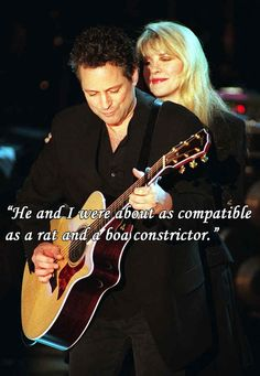 On bad relationships: | 12 Stevie Nicks Quotes To Live By