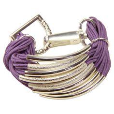 Jessica Bracelet in Purple.