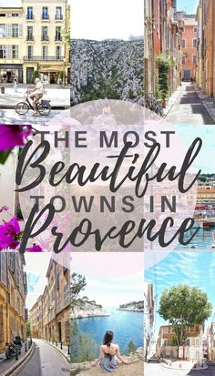 the most beautiful towns in Provence, France