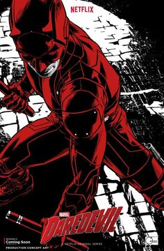 'Daredevil' Drips Red on NYCC in First Season 2 Poster |