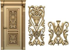 Huge selection of high quality STL models. STL model is used for production of different carved articles of any complexity for CNC machines. We also develop models according to your individual requirements. Door Design, 3d Design, Cnc Machine Tools, 3d Cnc, Wooden Doors, Baroque, Carving, Columns, Luxury Lifestyle
