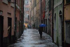 Borgo Incrociati, #Genova, pioggia