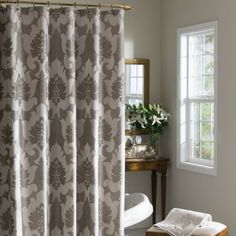 Croscill Verona Bath Collection: Add a touch of sophistication to your bathroom with the Croscill Verona Bath Collection. Featuring a damask floral design detailed in rich earthy tones.