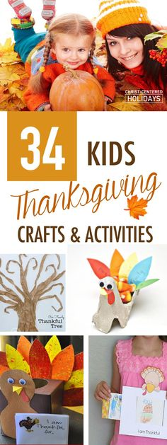 Wow! Check out this awesome list of Thanksgiving crafts for kids, plus a list of great Thanksgiving books for kids, awesome Thanksgiving activities (including a Thankful Tree printable) and even links to free Thanksgiving Bible lessons that will teach your family the importance of gratitude. #thanksgiving #thanksgivingcraftsforkids #thanksgivingcrafts via @urvibrantfamily