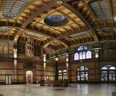 Stationshal Groningen, Netherlands