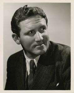 George Hurrell -  Spencer Tracy (1936)