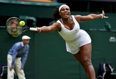 Serena sólida ante su hermana Venus. | Wimbledon 2015