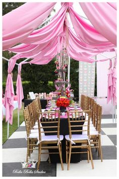 Alice in Wonderland Tea Party Birthday Party Ideas | Photo 5 of 16 | Catch My Party
