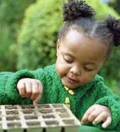 Plant a vegetable garden with the grands!