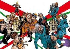 Collection of classic phrases from Jojo's Bizarre Adventure. Bizarre Art, Jojo Bizarre, Giogio's Bizarre Adventure, Jojo Parts, Japanese Artists, Awesome Anime, Cool Artwork, Manga Anime, Comics