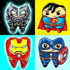 Which team are you on? PS: I am just a dental student who love geeky stuffs, especially superheros! Dental World, Dental Life, Dental Art, Dental Health, Humor Dental, Dental Quotes, Dental Hygienist, Dental Pictures, Dental Technician