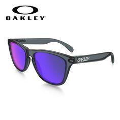 605b2a60a2 OAKLEY Frogskins OO03-289 Black Sunglasses