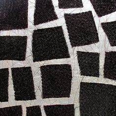 Marian Bijlenga   horsehair, fabric, stitched