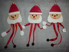 reginabastelt: Schlenker-Weihnachtsmänner