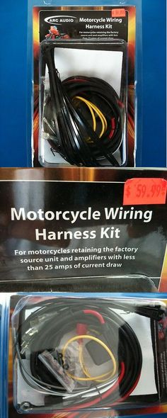 wire harnesses metra 70 2054 amp bypass aftermarket install wire harnesses arc audio motorcycle wiring harness harley davidson amps less than 25 amps