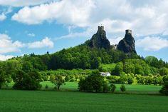 Trosky castle Czech Republic