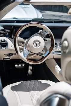Fine materials, exceptionally classy interior setting - that's the Mercedes-Benz S-Class Cabriolet. Photo by Trent Bona (www.trentbona.photoshelter.com) for #MBphotopass via @mercedesbenzusa