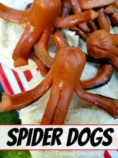 Spider Dogs: Fun spin on hot dogs for kids - they LOVE it!