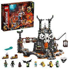 LEGO-Le Donjon du Sorcier au Crâne Ninjago Jeux de Construction 71722 Multicolore Lego Friends, Lego Sets, Legos, Success Kid, Building Toys For Kids, Construction Lego, Dragons, Armas Ninja, Lego Ninjago Minifigures