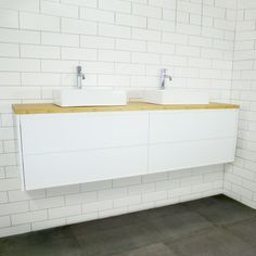 Phoenix Wall Mount Vanity Cabinet without Top 1800mm