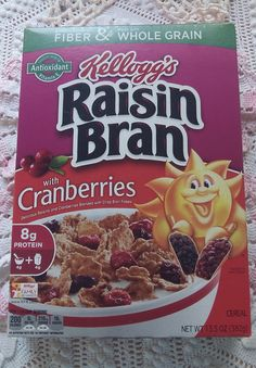 Add a little sunshine to your day with #KelloggsRaisinBran with Cranberries! #FreeSamp http://bit.ly/1SaeZA3  This is a great idea and I love Cranberries ! so happy I got to try it #gotitfree