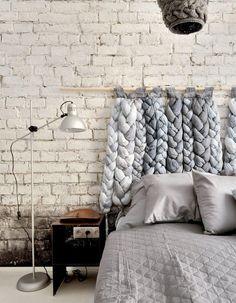 Tête de lit : découvrez les meilleures idées dénichées sur Pinterest pour une tête de lit originale dans la chambre...