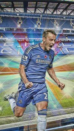 JOHN TERRY Real Soccer, Soccer Fans, Chelsea Blue, Chelsea Fc, John Terry, Barclay Premier League, Chelsea Football, Stamford Bridge, Fulham