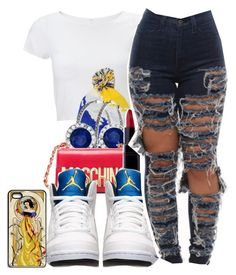 """""""Untitled #565"""" by iluvhaters143-749 ❤ liked on Polyvore featuring Lipsy, Nyla Star, Allurez, Moschino, Inglot, Retrò, women's clothing, women's fashion, women and female"""