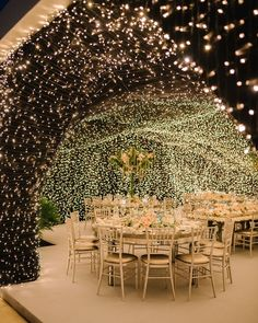At Chiara Ferragni's wedding reception, guests dined under a cave of lights where a Sicilian dinner was served. Tap the link for more. wedding reception Chiara Ferragni's Dream Italian Wedding Wedding Ceremony Ideas, Outdoor Wedding Decorations, Outdoor Ceremony, Wedding Table, Ceremony Decorations, Reception Ideas, Wedding Aisles, Wedding Backdrops, Rustic Wedding