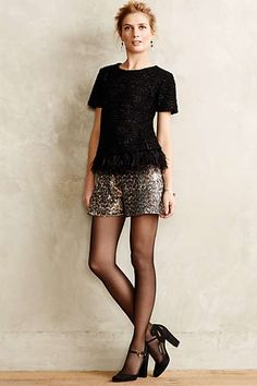 Sequin Soiree Shorts