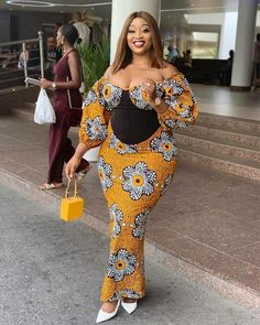 Ankara Styles Gown for Ladies; 2020 Dressed for Fashionable .Ankara Styles Gown for Ladies; 2020 Dressed for Fashionable Ankara Long Gown Styles, Ankara Gowns, Latest African Fashion Dresses, African Print Fashion, Ankara Fashion, Africa Fashion, African Prints, Ankara Skirt And Blouse, African Dress