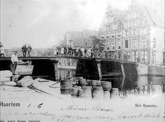 Het Spaarne omstreeks 1912
