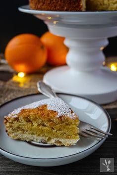 Weihnachtlicher Orangen-Mandel-Kuchen