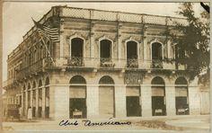 Club de enlistados norteamericanos. Cerca 1920