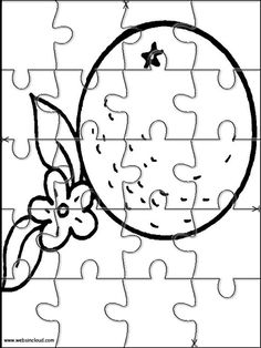 Printable jigsaw puzzles to cut out for kids Nature 49 Coloring Pages