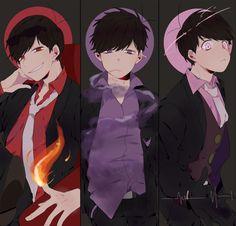 AWWWWWWW ME ENCANTA ESTE AU<3 Osomatsu San Doujinshi, Dark Anime Guys, Happy Tree Friends, Ichimatsu, Boy Art, Mafia, Anime Art Girl, Kawaii Anime, Anime Manga
