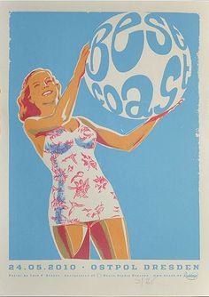 Best Coast  music gig poster | Best Coast