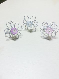 Check out this item in my Etsy shop https://www.etsy.com/listing/253049569/flower-wire-ringwire-ringboho